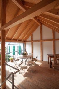 Seminarhaus Außenbereich in der Remise im Haus in Bewegung  Haus in Bewegung