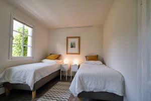 Schlafzimmer in der Ferienwohnung im Haus in Bewegung| Haus in Bewegung