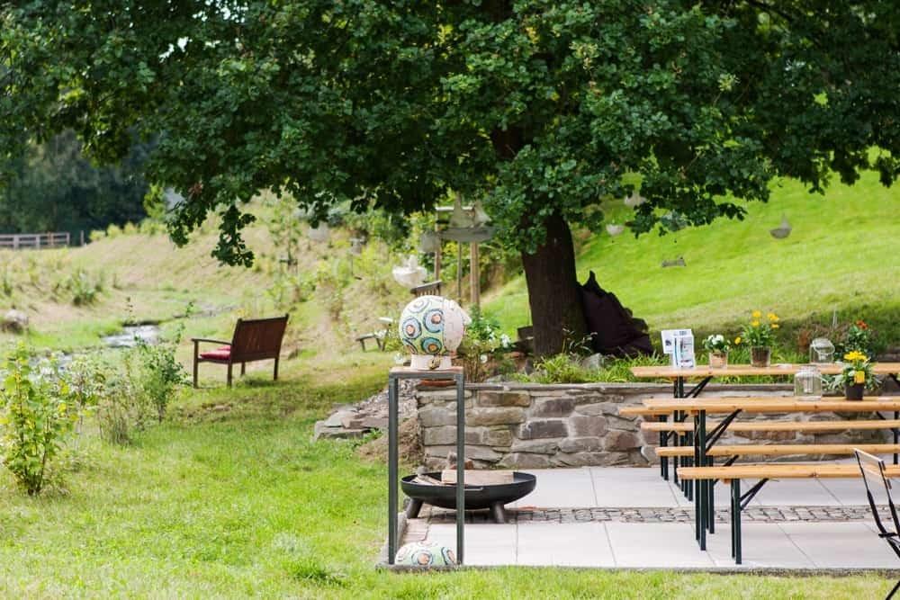 Wunderbare Außenanlagen zu Leben und Feiern in Seelscheid  Haus in Bewegung