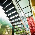 Treppenhaus im Seminarhaus| Haus in Bewegung