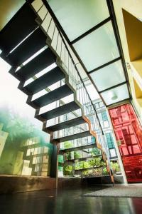 Treppenhaus im Seminarhaus  Haus in Bewegung