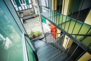 Treppenhaus im Haus in Bewegung| Haus in Bewegung