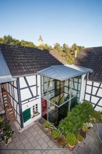 Innenhof Haus in Bewegung| Haus in Bewegung