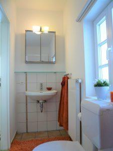 Badezimmerausschnitt Gästehaus Seelscheid| Haus in Bewegung