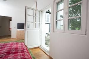 Terassenzugang Gästehaus Haus in Bewegung  Haus in Bewegung