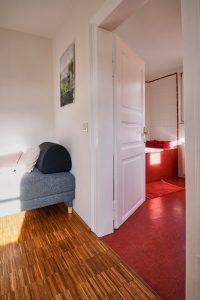 Badezimmer der Fereinwohnung in Seelscheid| Haus in Bewegung