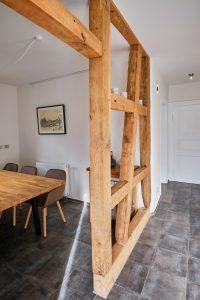 Eingangsbereich der großzügigen Ferienwohnung Haus in Bewegung| Haus in Bewegung