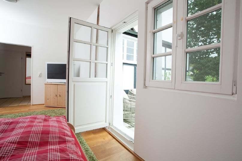 Terrassenausgang| Haus in Bewegung