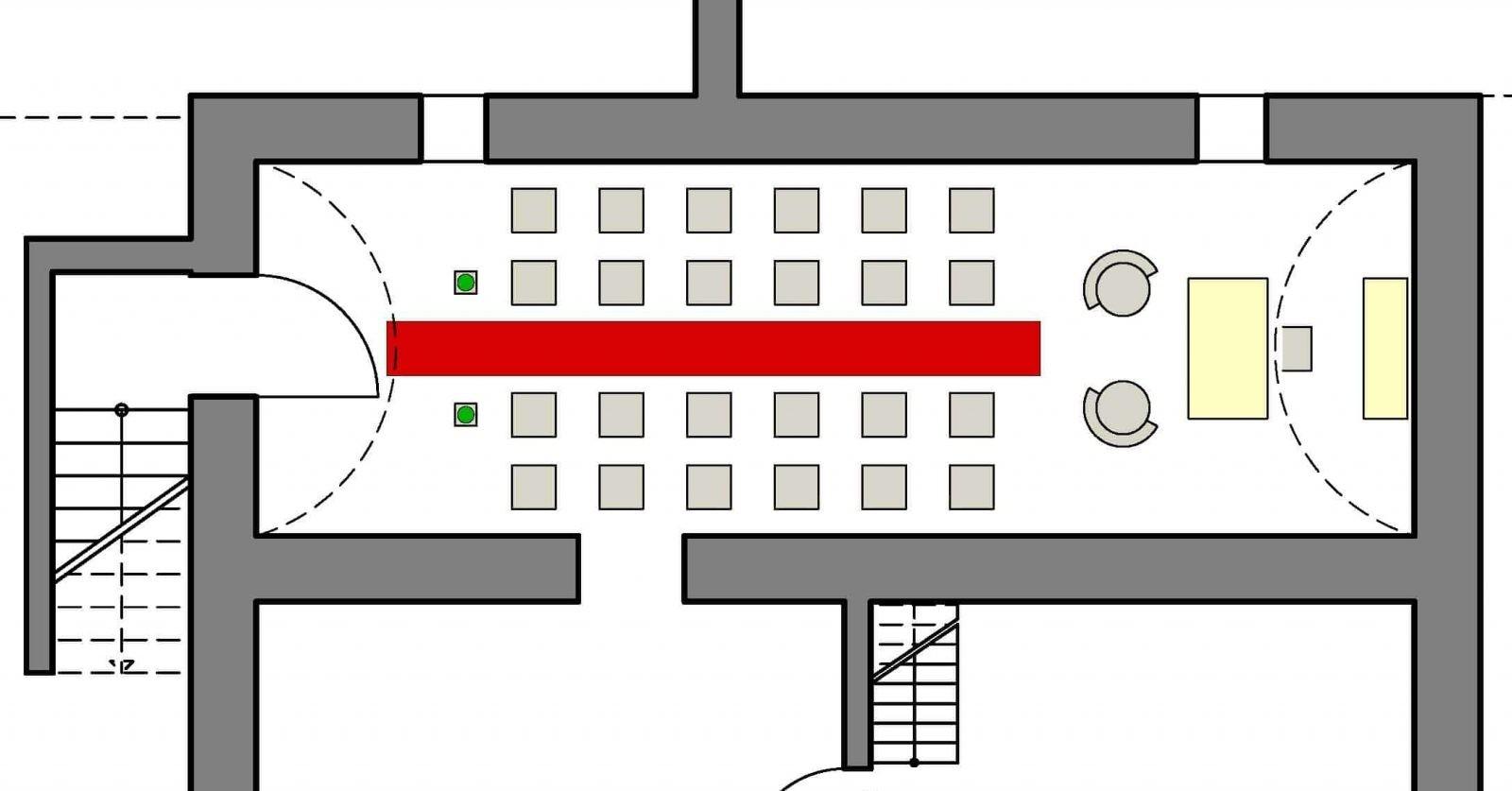 Grundriss Gewölbekeller Haus in Bewegung Seelscheid