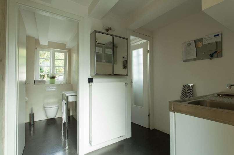 Teeküche und Toiletten Seminarhaus'Haus in Bewegung' in Seelscheid