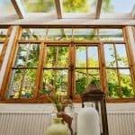Große und wunderschöne Veranda der Ferienwohnung im Haus in Bewegung  Haus in Bewegung