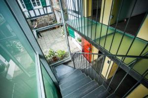 Inspiration Hofsicht  Haus in Bewegung