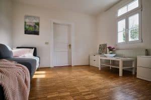 Reserveschlafzimmer der Ferienwohnung im Haus in Bewegung| Haus in Bewegung