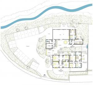 Grundriss des Seminarhaus Haus in Bewegung Seelscheid| Haus in Bewegung