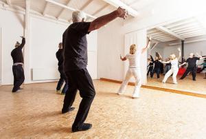 chi-gong im Seminarhaus Haus in Bewegung| Haus in Bewegung