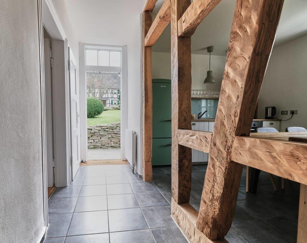 Eingangsbereich Ferienwohnung Seelscheid| Haus in Bewegung