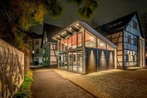 Wintergarten der Buchmühle in Bergisch Gladbach| Haus in Bewegung