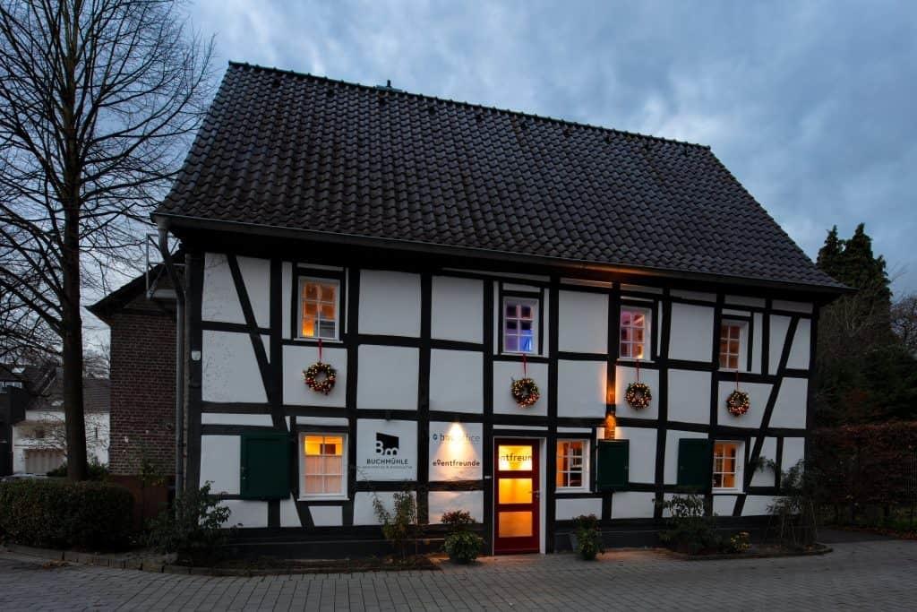Buchmühle in Bergisch Gladbach  Haus in Bewegung